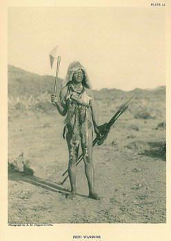 Pedi  warrior ca 1860