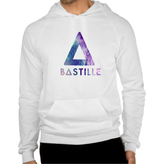 bastille band cool logo galaxy hoodie  size by coollandart on Etsy