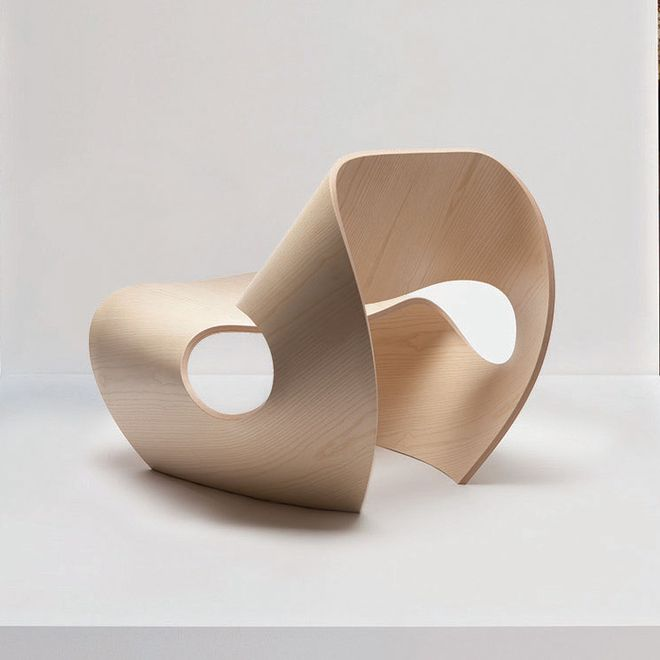 Bent Plywood Chair by Made In Ratio