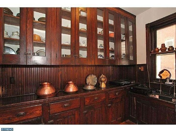 Butler's pantry from 1890 townhome. vintage kitchens