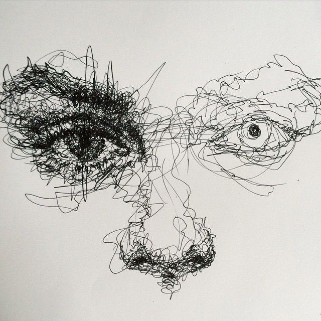 Line Drawing Of Artist : Instagram photo by vince low iconosquare art ref