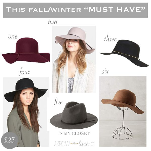 The best hats you need this Fall/Winter  Newest obsession – hats - Arrow & Lace Designs