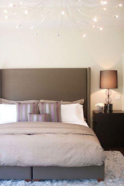 Client bedroom designed by Glen & Jamie from Peloso Alexander Interiors.