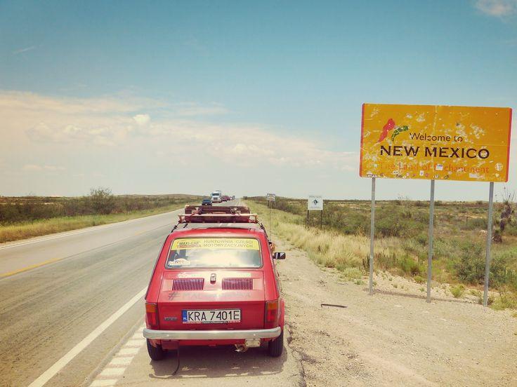 Maluchem dookoła #USA część 10: #Teksas i odrobinę Nowego Meksyku #maluch #fiat126p