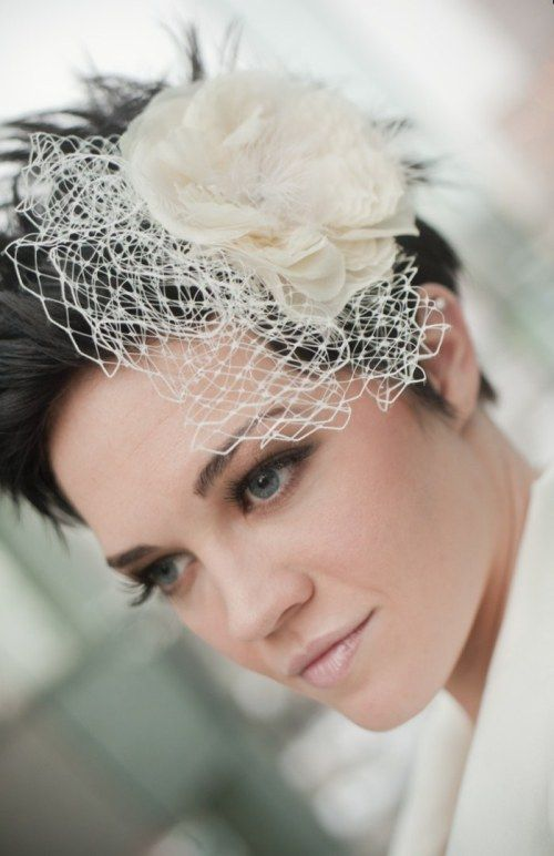 """40 Best Short Wedding Hairstyles That Make You Say """"Wow ..."""