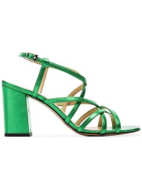 76aae7054 Kalda Green Pip 45 Leather Sandals in 2019