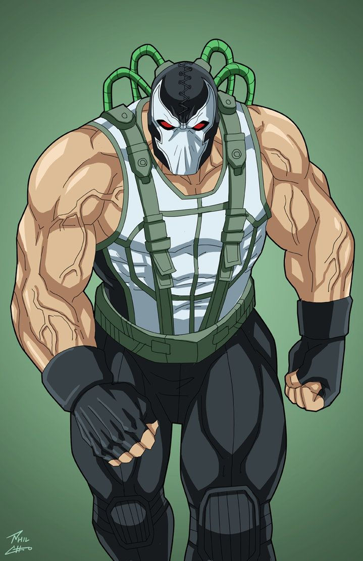 Bane commission by phil-cho on DeviantArt