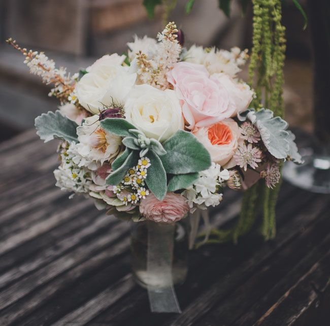 soft + romantic bouquet