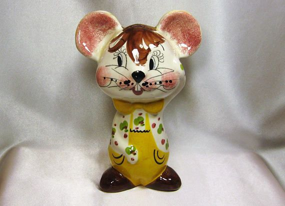 On sale Ceramic Piggy Bank mouse