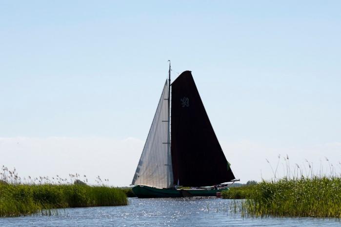 Skutsjesilen in Friesland