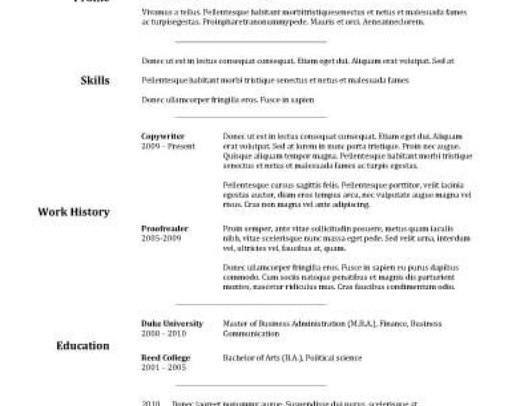 Mer enn 25 bra ideer om Cashiers resume på Pinterest - combination style resume sample