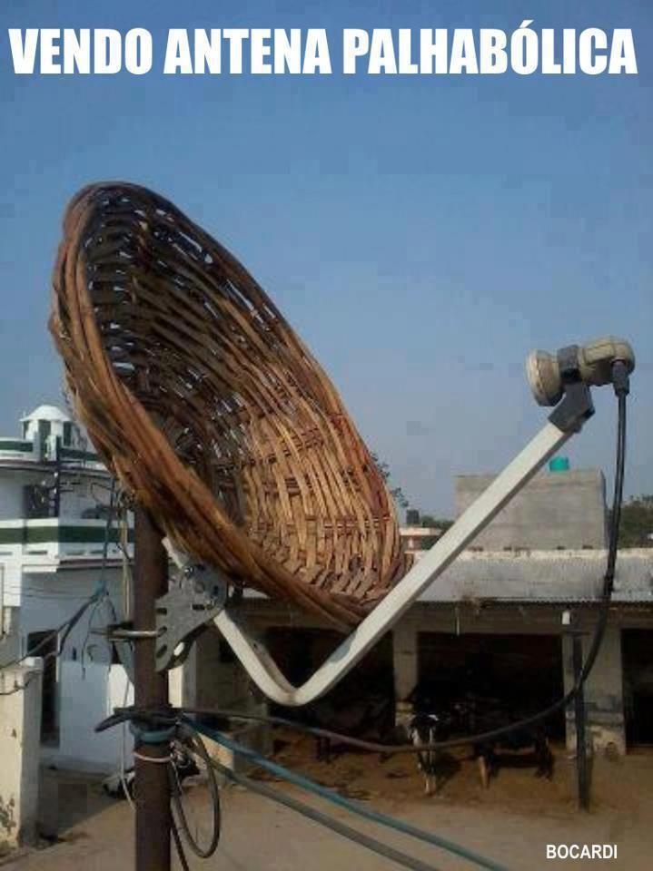 Antena palhabólica