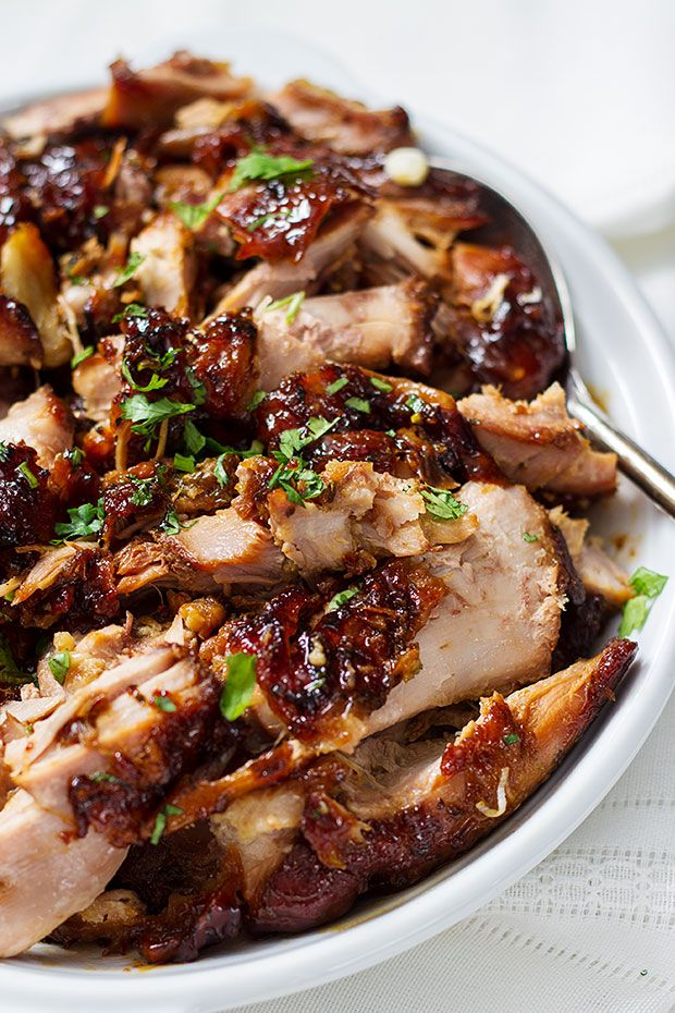 Slow cooker turkey thighs