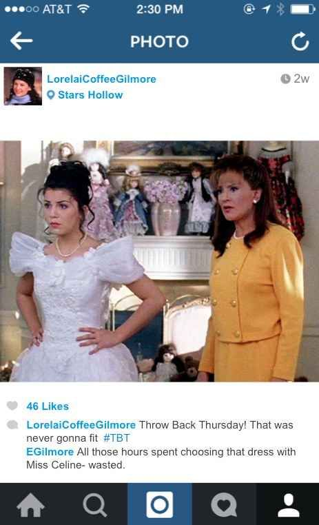 If The Gilmore Girls Had Instagram