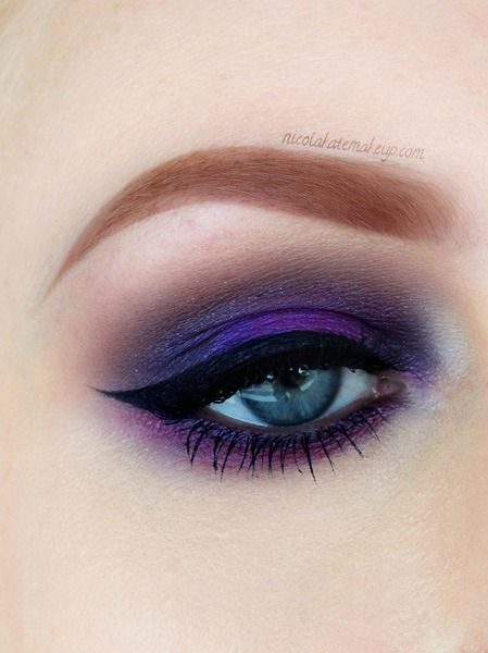 Purple Eyeshadow Tutorial: 234 Best Eye Art Images On Pinterest