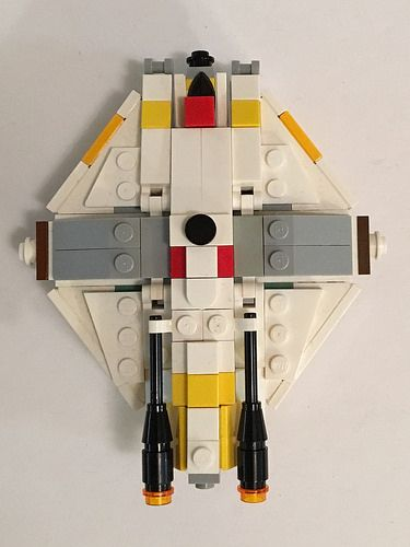 Micro Scale Lego Ghost Rebels I Built This To Be In Scale With The