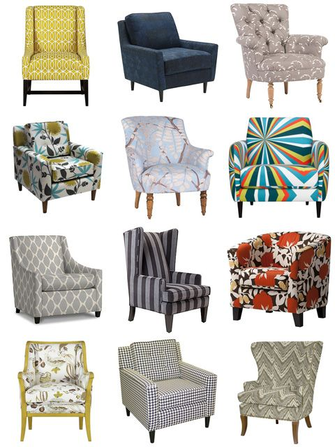 Patterned living room chairs 11 on the hunt for a great accent chair