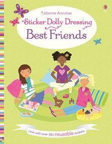 Usborne Sticker Dolly Dressing: Best Friends