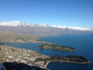 A view over Queenstown