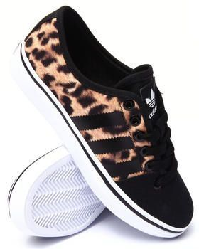 Find Adria Lo W Sneakers Women's Footwear from Adidas- living with a family  who loves cheetah print, I think these shoes are perfect to spice up any  outfit