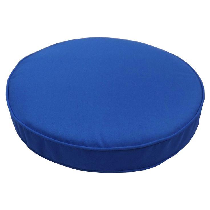 Cushion Pros 18.5 in. Sunbrella Round Bar Stool Cushion - 55595.812