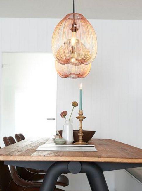 Hanglamp Ella - Geeft ieder interieur een warme gloed, dankzij de koper kleur! - Goossens wonen & slapen