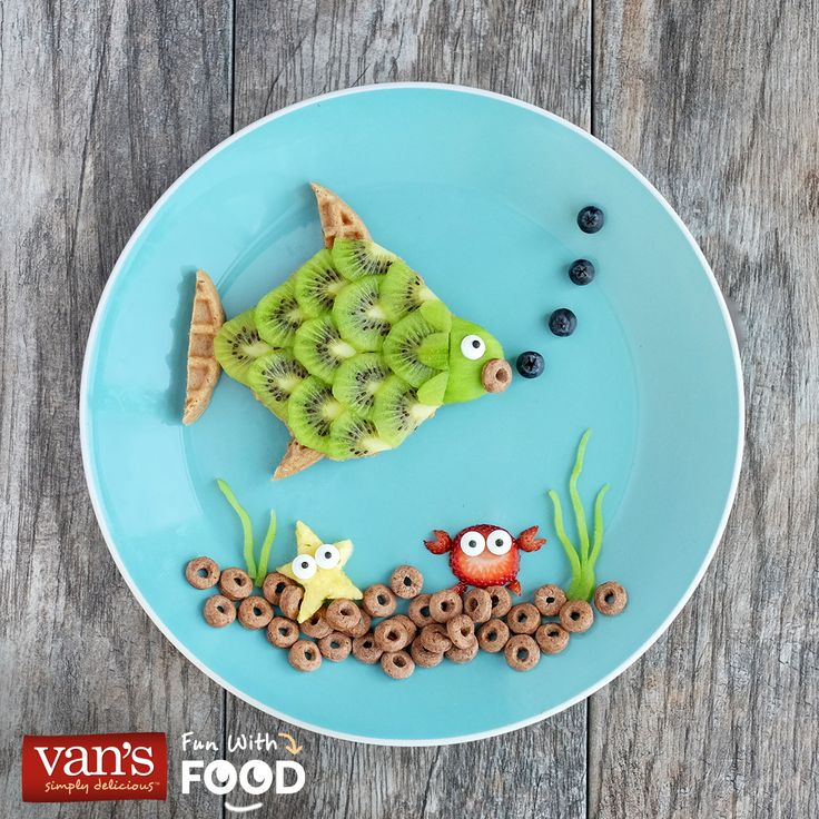 With Van's at the breakfast table, your day is sure to go swimmingly.