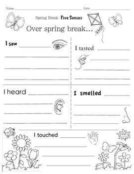 5 paragraph essay about spring break
