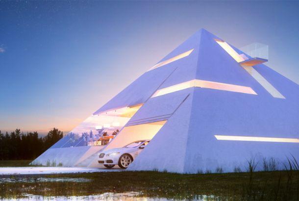 謎多きエジプトのピラミッド。世界中の誰もがイメージできるあの四角錐の建造物です。メキシコの建築家Juan Carlos Ramo...