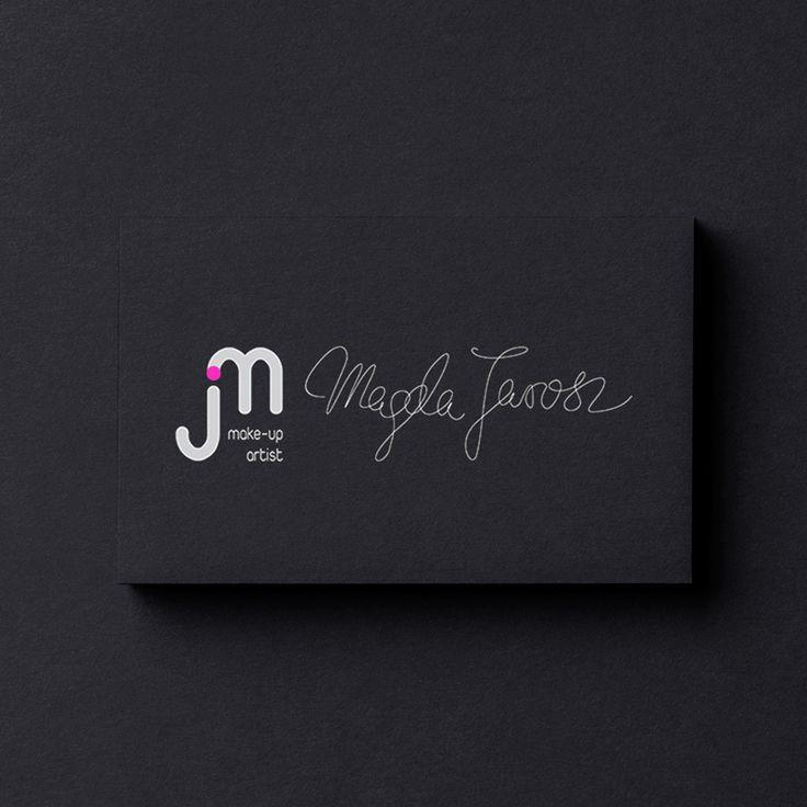 MagdaJarosz - logo wizażystki ⋆ KotKreator - Duet Interaktywny