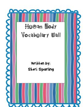 These are beautiful colour vocabulary wall cards that can be laminated and used…