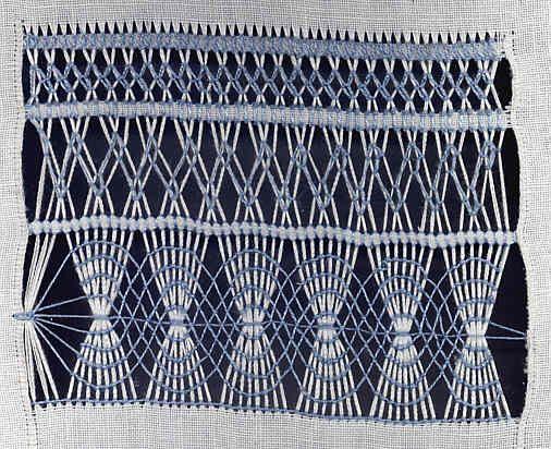 Drawn Thread Embroidery tutorial