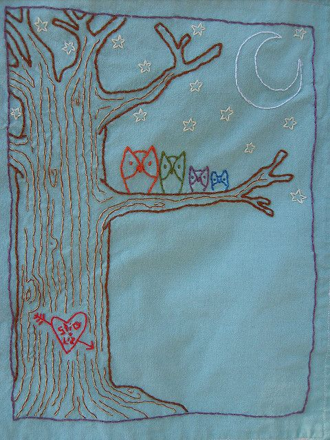 Such a sweet twist to the typical family tree!