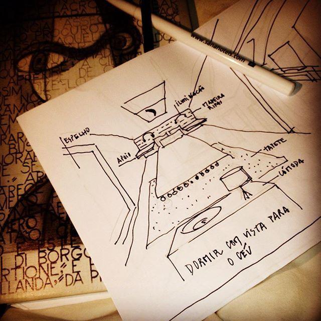 O início, no dia do 5º aniversário do #Instagram.In my#bedroom, #drawings