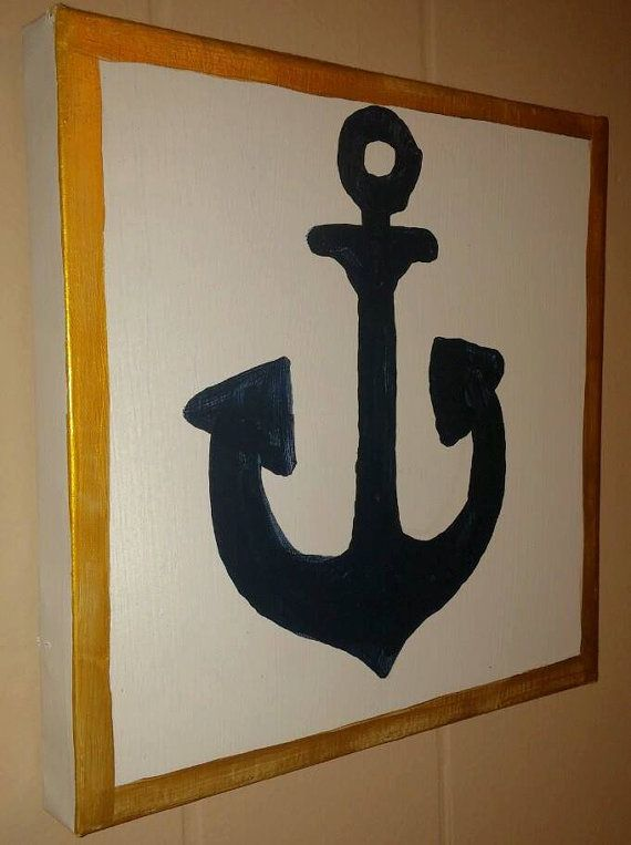 Nautical Life Paintings  Set of 4 by TheKiltedBear on Etsy