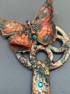 Tando Creative: Butterfly key by Dee