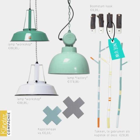 NIEUW! Frisse accessoires voor in de baby- & kinderkamer, het boomstamhaakje is ook met een witte dip dye beschikbaar!