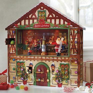 Animated Advent House Grandin Road