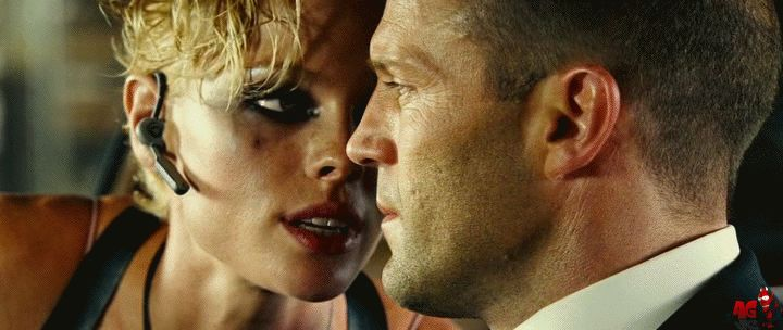 Hot Sexy Kate Nauta - Lola licks Jason Statham Transporter 2 GIF