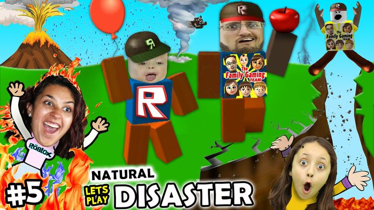 News Videos & more -  Let's Play ROBLOX #5: SAVE FAMILY OR PLAY GAMES?  Natural Survival Disaster w/ FGTEEV Duddy & Chase #Music #Videos #News Check more at https://rockstarseo.ca/lets-play-roblox-5-save-family-or-play-games-natural-survival-disaster-w-fgteev-duddy-chase/