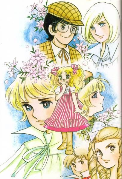 CANDY CANDY ; my fab anime when I was young!!