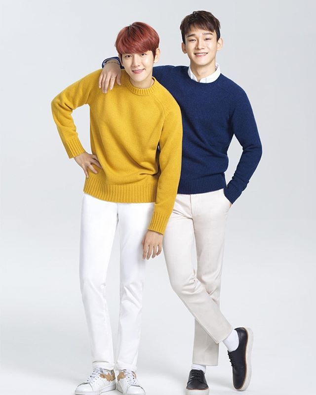 [170302] LOTTE Duty Free Updates With  CHEN & Baekhyun