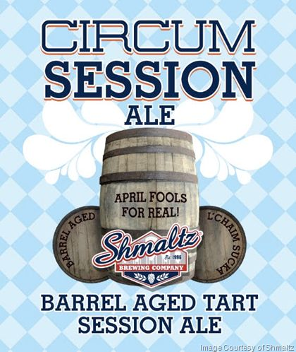 mybeerbuzz.com - Bringing Good Beers & Good People Together...: Shmaltz Circum Session Ale Comes To Life Again For...
