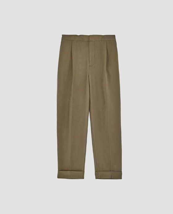 Image 8 of CASUAL SUIT TROUSERS from Zara