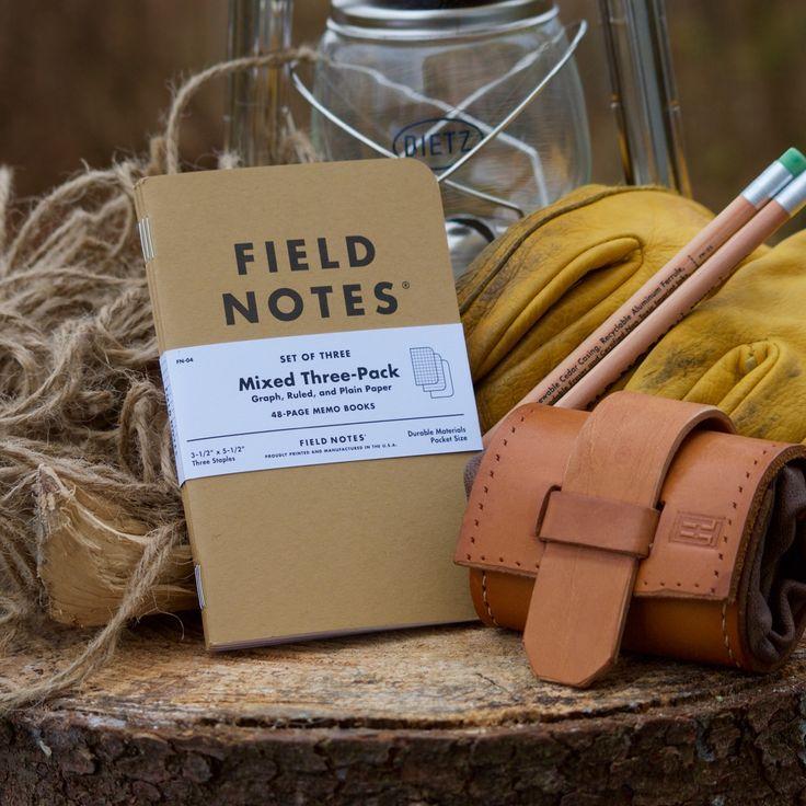 Field Notes Standard edition är fantastiska små anteckningsböcker att ta med ut i fält. Ett bra sett att dokumentera det du ser omkring dig.