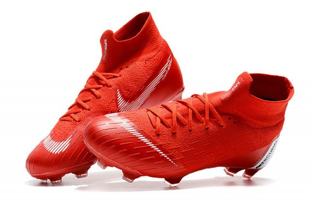 Nike Mercurial Superfly Vi 360 Elite Neymar Fg Sun Red Men S Soccer Cleats Shoes Soccer Cleats Nike Soccer Boots Mens Soccer Cleats