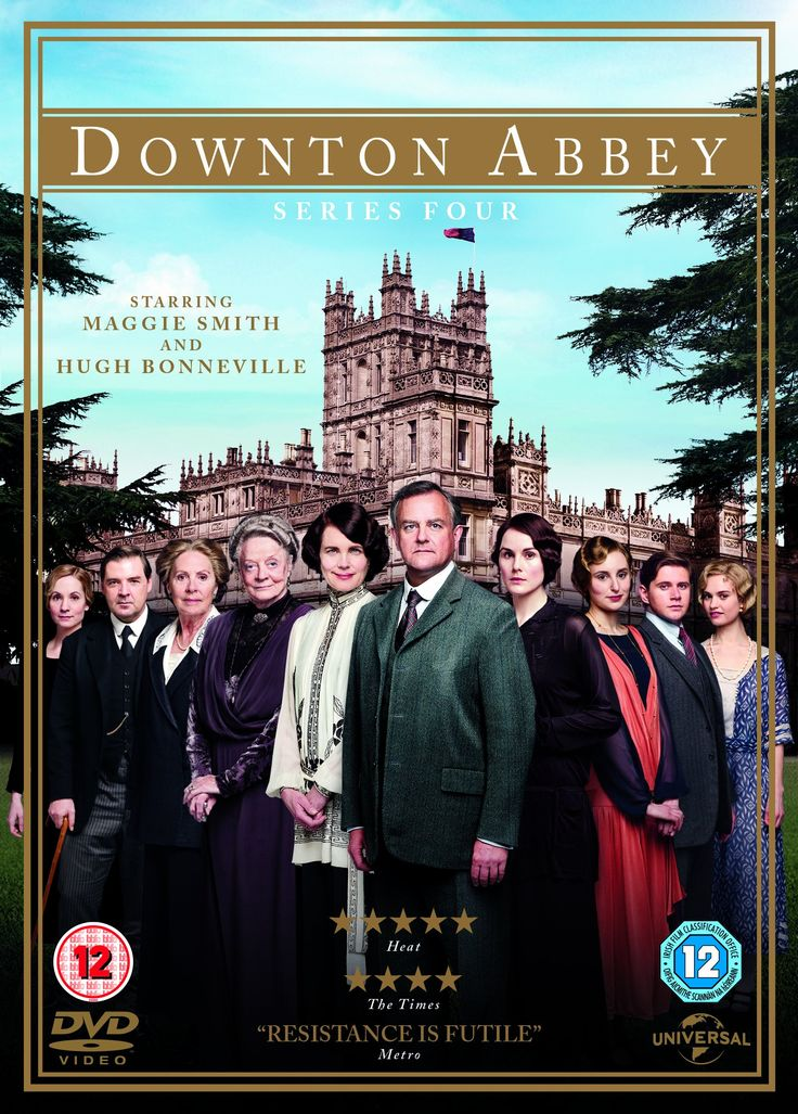 Downton Abbey [Vídeo-DVD]. Cuarta temporada / written and created by Julian Fellowes ; directors David Evans, Catherine Morshead, Philip John, Edward Hall and Jon East