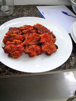 VISIT GREECE| Santorini's Tomato Fritters(tomatokeftedes)