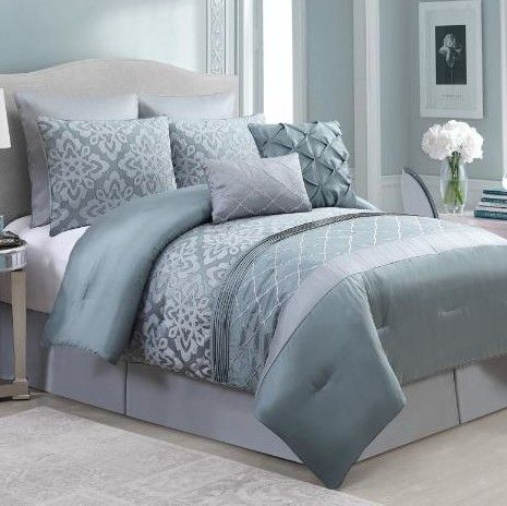 stratton 8 piece queen comforter set