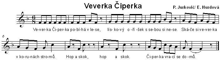 Veverka Čiperka